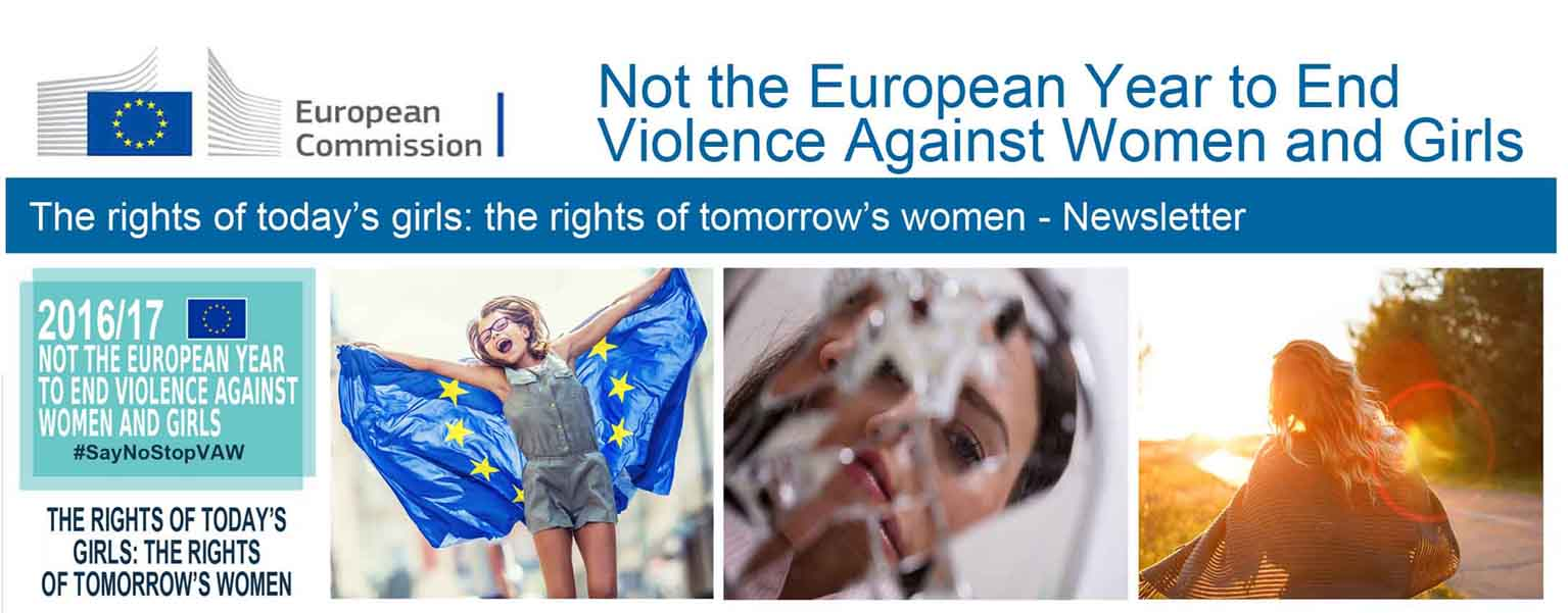 Not the European Year to End Violence Against Women and Girls - Newsletter